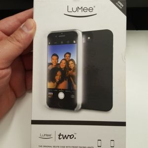 "Case LuMee for iphone 7/8 4.7"" not plus black new"
